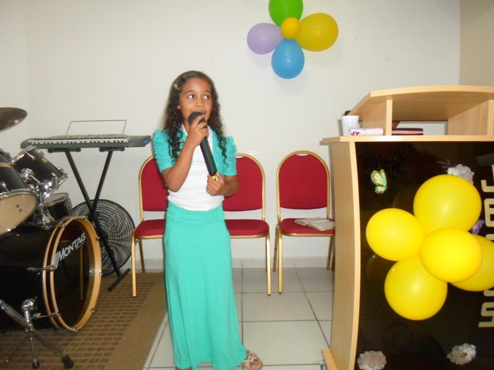 1° Culto do ano com o Grupo de crianças ESTRELINHA DE JESUS