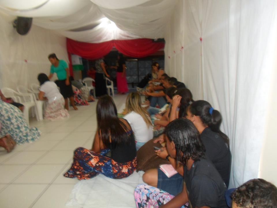 1° Culto do ano com o grupo de Jovens SOM DE ADORADORES